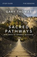 Sacred Pathways 5 Sessions (Study Guide) Paperback