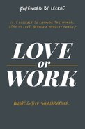 Love Or Work eBook