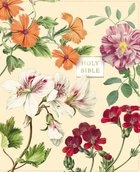 NASB Artisan Collection Bible Almond Floral 1995 Text (Red Letter Edition) Premium Imitation Leather
