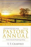 The Zondervan 2022 Pastor's Annual: An Idea and Resource Book Paperback