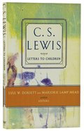 Lewis' Letters to Children Paperback