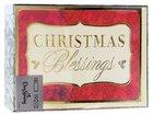 Christmas Boxed Cards: Christmas Blessings (Luke 2:14 Kjv) Box