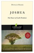 Joshua (Lifeguide Bible Study Series) Paperback