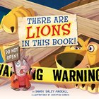 There's a Lion in This Book! Board Book