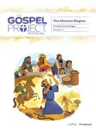 The Mission Begins (Preschool Activity Pages) (#10 in The Gospel Project For Kids Series) Paperback