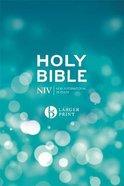 NIV Larger Print Blue Bible Hardback