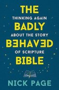 The Badly Behaved Bible eBook