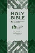 NIV Larger Print Compact Single Column Reference Bible Flexi Back