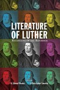 Literature of Luther Paperback