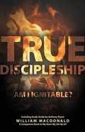 True Discipleship (With Study Guide) Paperback