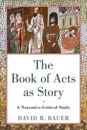 The Book of Acts as Story eBook