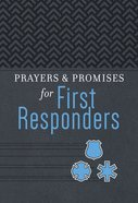 Prayers & Promises For First Responders Imitation Leather