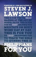 Philippians For You: Shine With Joy as You Live By Faith (God's Word For You Series) Hardback