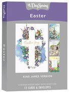 Boxed Cards Easter: Joy, KJV Scripture Text Box