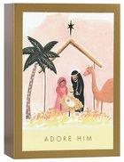 Christmas Boxed Cards: Nativity, Adore Him (Luke 2:11 Niv) Box