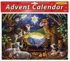 Advent Calendar: A Child is Born, Animals, Glitter Calendar