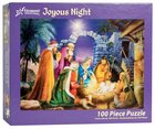 Christmas Jigsaw Puzzle Joyous Night (100 Pieces) General Gift