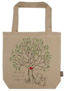 Tote Bag Organic Beige (Aco Certified Organic Cotton) (Above All Keep Loving 1 Peter 4: 8) (Australiana Products Series) Homeware