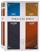 NIV KJV NASB Amplified Parallel Bible Hardback