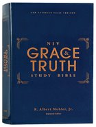 NIV Grace and Truth Study Bible (Red Letter Edition) Hardback