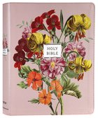 NIV Artisan Collection Bible Blush Floral (Red Letter Edition) Premium Imitation Leather
