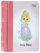 NKJV Precious Moments Small Hands Bible Pink Hardback