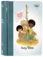 NKJV Precious Moments Small Hands Bible Teal Hardback
