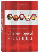 NKJV Chronological Study Bible Hardback