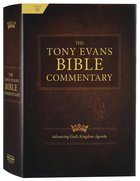 The Tony Evans Bible Commentary Hardback