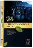 NKJV One Year Chronological Bible (Black Letter Edition) Paperback