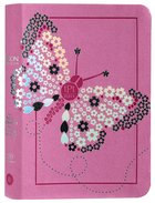 TPT New Testament Compact Youth Girls Butterfly Pink (With Psalms, Proverbs And The Song Of Songs) Imitation Leather