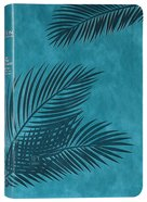 TPT New Testament Large Print Teal (With Psalms, Proverbs And The Song Of Songs) Imitation Leather