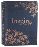 NLT Inspire Bible Navy Hardback