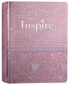 NLT Inspire Bible For Girls Pink Imitation Leather
