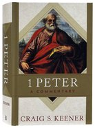 1 Peter: A Commentary Hardback