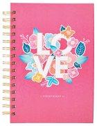 Journal: Love Pink (1 Cor. 13) Spiral