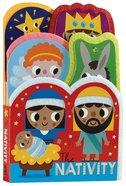 The Nativity: Felt Friends Board Book