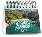 2022 Desk Calendar: Choice Gleanings Calendar
