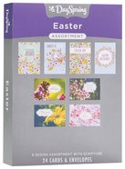 Boxed Cards Easter: 24-Count Assortment, Mixed Scripture Text Box