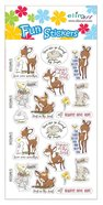 Fun Stickers: Forest Animals, 1 Sheet Per Pack Novelty