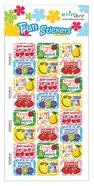 Fun Stickers: Fruit of the Spirit, 1 Sheet Per Pack Novelty