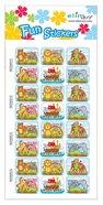 Fun Stickers: Noah's Ark, 1 Sheet Per Pack Novelty