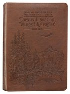 Journal: They Will Soar on Wings Tan (Isaiah 40:31) Imitation Leather