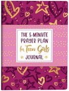 The 5-Minute Prayer Plan For Teen Girls Journal Paperback
