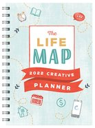 2022 17-Month Diary/Planner: The Life Map 2022 Creative Planner Spiral