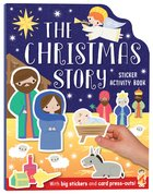The Christmas Story Sticker Activity Book: With Big Stickers and Card Press Outs Paperback