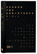 ESV Search the Scriptures Bible Leather Edition With Slipcase Hardback