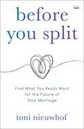 Before You Split eBook