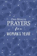 One-Minute Prayers For a Woman's Year eBook