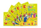 Easter Story Sticker Book (5 Pack) Paperback